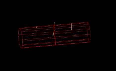 3D Cylinder Model