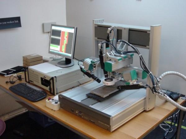 sony scorpion robot inspection 3 - small