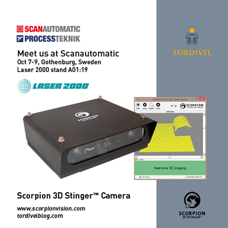 Exhibition Invitation Scanautomatic - Scorpion 3D Stinger Camera