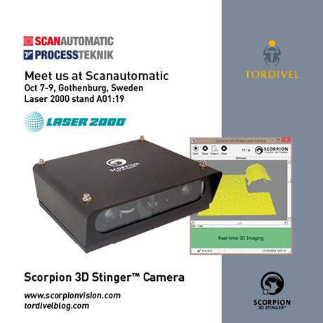 Exhibition Invitation Scanautomatic - Scorpion 3D Stinger Camera