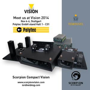 Exhibition Invitation Vision 2014 - Scorpion Compact Vision - Polytec