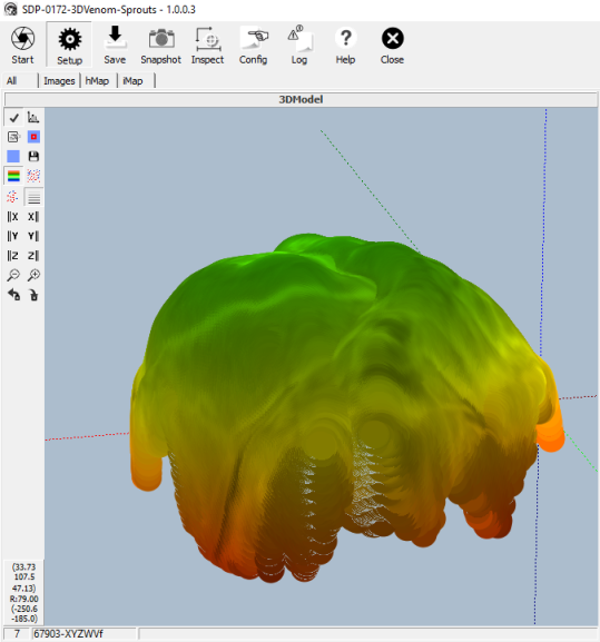 3D Processing of brussel sprouts